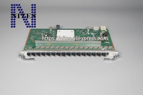 Original New hua wei 16port GPON Board,H901 GPHF with B+  modules use for HUA WEI MA5800 OLT gphf
