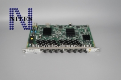Original NEW  ZTE ETTO 10G EPON 8 ports board with 8 EPON modules, for OLT C300 C320