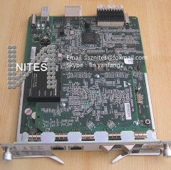 Original ZTE 4 ports uplink board GUSQ for OLT C300,with 2pcs modules, two 1.25G Optic ports and two 1G Ethernet ports