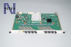 Original Hua  wei 8 Ports GPON card GPBH with 8 pcs B+ modules,use for Hua wei MA5608T,MA5683T&MA5680T,there are C+ & C++ module