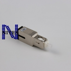 Free shipping 10PCS NEW Connector SC-SC Fiber Optic Attenuator SC Optical Attenuator 0db  Special Wholesale