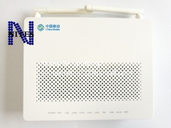 HW GPON HG8546M R017 mini one  with 1GE+3*FE+1*phone port+wifi, English firmware with china mobile logo