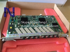 Original NEW  ZTE GTTO 10G high speed GPON 8 ports board with 8 GPON modules, for OLT C300 C320