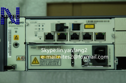 Original  CCUB control board  for HUAWEI  MA5616 Dslam