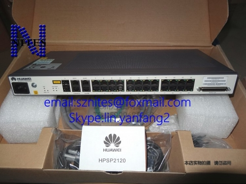 Original new Hua  wei MA5620-24 GPON / EPON ONU with voice port switch