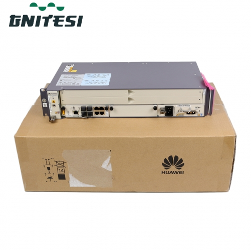 Original 19 inch mini OLT MA5608T with 2* control uplink integrated board MCUD+ 1* MPWC  Power  board  for HUAWEI