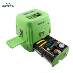 Signalfire  FTTH Fiber Optic Welding Splicing Machine Optical Fiber Fusion Splicer AI-8
