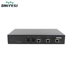 mini ftth fiber optic 2 Ports EPON OLT 20km with WEB management mini olt
